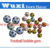 bubble gum with football warpper