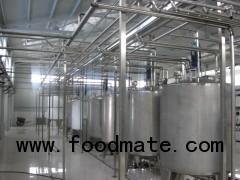 Yogurt, milk, juice production line