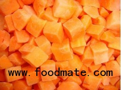 frozen carrot dice