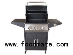 3-Burners Gas BBQ Grills