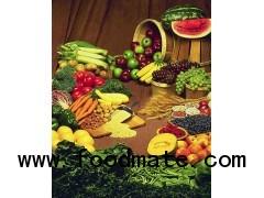 All natural fruit flavour/colours