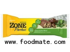 ZONE PERFECT Nutrition Bar Chocolate Mint 1.76OZ WRAPPER