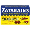 ZATARAIN'S Crawfish Shrimp & Crab Boil In Bag 3OZ BOX