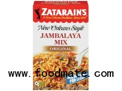 ZATARAIN'S Rice Mix Jambalaya Original 8OZ BOX