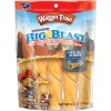 WAGGIN' TRAIN Dog Treats Big Blast Baked Chews 6.2OZ PEG