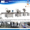 cheap small pure mineral water plant production line