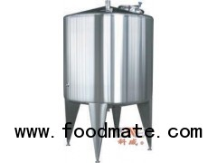 food dairy and beverage single layer storage tank