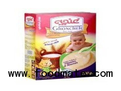 Wheat Baby food with milk