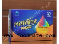 Color Box Health Medicine Care Product Packaging Box(Zla01h01)