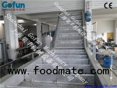 Fruit & Vegetable Stainless steel elevator