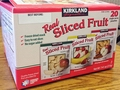 Kirkland Signature Real Sliced Fruit Recalled Due to Possible Health Risk