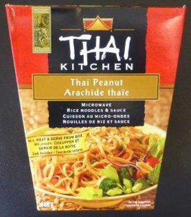 Thai Peanut Microwave Rice Noodles & Sauce