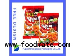plastic bags for potato chips Customized Avaliable Free Design
