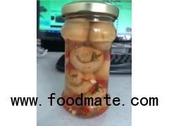 Canned Food Fresh Mushroom Whole in Glass Jars