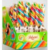 Hard candy lollipop swirl 60g fruit flavour