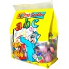 ABC filled candies fruit flavour 400g bag