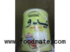 White Cap Nido Nestle Milk Powder Arabic Text