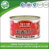 canned spiced pork cubes 142g
