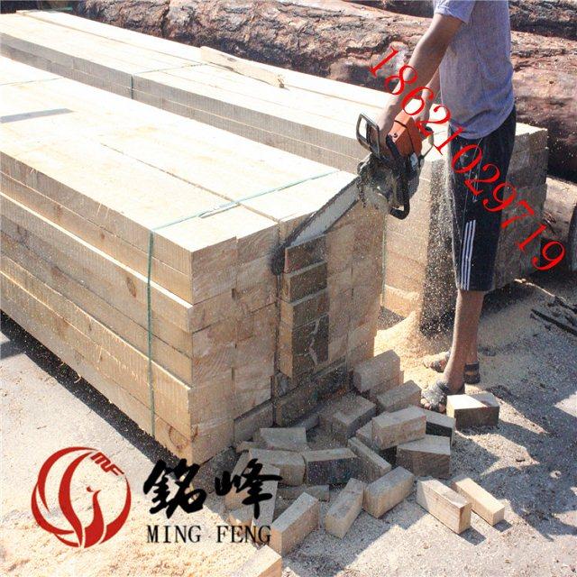铁杉桥梁枕木上海铭峰牌铁杉枕木工程使用可周转20次