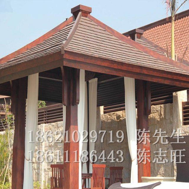菠萝格防腐木凉亭上海工厂订做一个什么价格