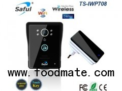 video door phone with wireless indoor dingdong doorbell
