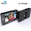 digital door viewer peephole viewer Saful TS-YP4300 4.3 inch digital video door viewer