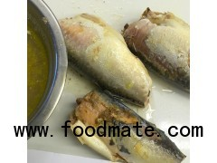 Canned mackerel in natural oil 24X425g