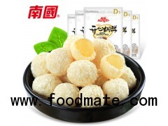 Gummy center filled durian coconut ball 100g