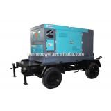 Four Wheel Trailer Diesel Generator Set