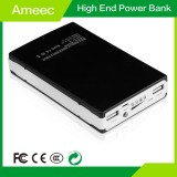 Ameec AMJ-7104 10000mAh Polymer Power Bank with cable connector for Iphone