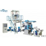 PE Blown Film Extrusion With Flexographic Printing Machine