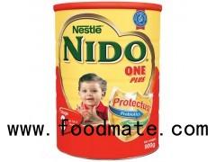 Aptamil, Nestle Nido, Nutrilion, Hipp and Holle organic milk