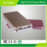 Aluminium Shell Li-polymer Battery Mobile Phone Charger 8000mAh Electric Ameec AMJ-K616