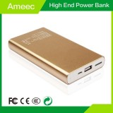 Golden Power Banks 12000mAh Polymer Battery Charger With LED Display Ameec AMJ-K614