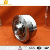 Manufacturer Custom Stainless Steel Single Timing Belt Wheel bearing Pulley