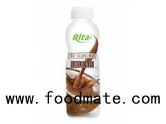 500ml PP Bottle Pure Coconut Milk With Chocolate