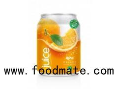 250ml Alu Can Orange Juice Drink
