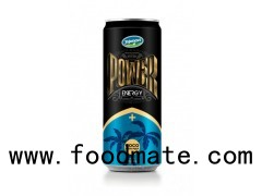 Aluminium Energy Drink Power Energy Drink With Coconut Pulp