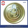 300# tinplate easy open can lid