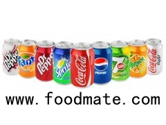 Sprite, Coke, Fanta, Pepsi, Cola 330ml Can