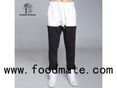 White And Black Joggers