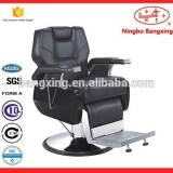 Salon Deluxe Reclining Barber Chair And Functional Chairs