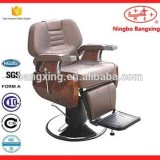 Classic And Luxury Black Barber Chair Manufacturer In China