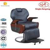 Barber Chair Classical Hydraulic Salon Beauty Spa Hair Stainless Steel Armrest