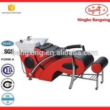 Popular Hair Salon Wash Units With Ceramic Basin Cheap Salon Equipment For Sale