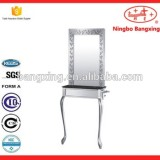 Stainless Beauty Mirror Copper And Stainless Steel Base Material Adjustable Table Beauty Mirror