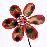 Little Glittering Insect Wedding Festival Party Decoration Ornament Plastic Outdoor Windmill Mylar P