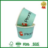 Custom Printed Paper Yogurt Container With Lid And Spoon