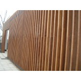 High strength durable mildew bamboo beams