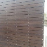 Durable waterproof mildew bamboo cladding